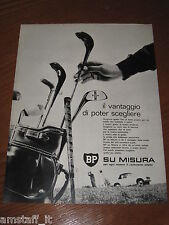 AC6=1963=BP CARBURANTE SU MISURA=PUBBLICITA'=ADVERTISING=WERBUNG=