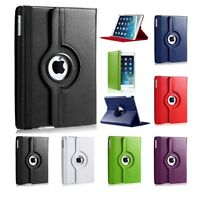 LEATHER 360 DEGREE ROTATING CASE COVER STAND FOR NEW APPLE IPAD AIR IPAD 5
