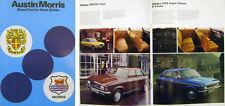 Austin Morris MG Mini Allegro Marina Maxi Princess Midget MGB 1978-79 Brochure