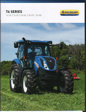 "New Holland ""T6 Series"" Tractor Brochure Leaflet"