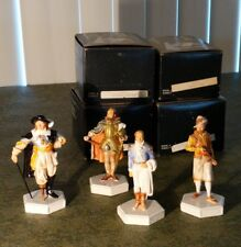 Sebastian Miniatures Figurines Lot Of 4 In Original Boxes #2109/4500 Set