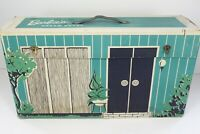 Vintage Mattel 1962 Barbie Cardboard Dream House with Furniture and Accessories