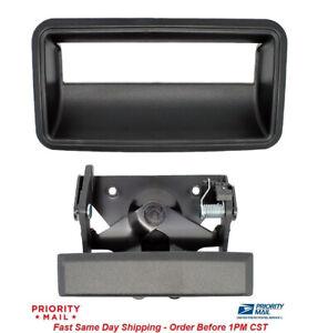 Tailgate Handle and Bezel Kit for Chevrolet GMC Pickup Truck 15991785 15991786