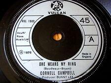 """Cornell Campbell-INDOSSA IL MIO Anello 7"""" in vinile"""