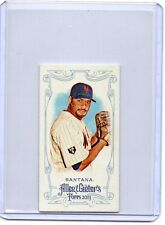 JOHAN SANTANA Mets 2013 Topps Allen & Ginter's Mini Red A&G Back /25 SP