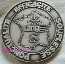 MED5287 - MEDAILLE 50° anniversaire TRANSPORTS LANG 1937-1987