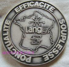 MED5287 - MEDAILLE 50° anniversaire TRANSPORTS LANG 1937-1987