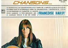 MFD IN CANADA FRENCH POP COMPILATION LP : FRANCOISE HARDY : CHANSONS...