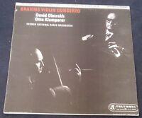 Brahms Violin Concerto  Klemperer David Oistrakh SAX 2411 LP