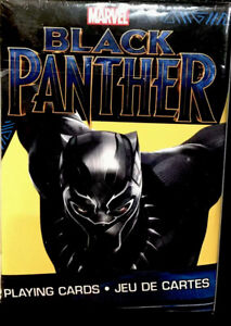 Marvel Black Panther Playing Cards Sealed Deck of 52