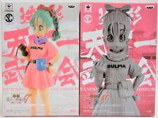Banpresto Dragon Ball Z SCultures BIG Colosseum Budoukai 7 Bulma Figure Set of 2