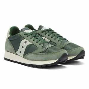 Saucony Jazz Vintage Mens Green / White Trainers