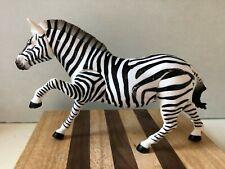 Safari Toy Animal Zebra Figure Articulated 7