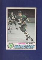 Alex Pirus RC 1977-78 O-PEE-CHEE OPC Hockey #204 (NM) Minnesota North Stars