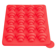 Nonstick Cake Pop Bakeware Set - Silicone Baking Molds Red