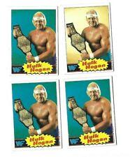 1985 topps WWF WWE HULK HOGAN ROOKIE CARD LOT OF 4 RC