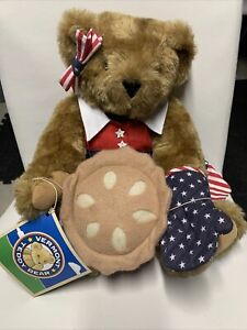Vermont Independence Day Teddy Bear Fourth Of July Teddy Bear