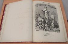 Illustration europèenne 1873-1874, Bruxelles, als Buch gebunden