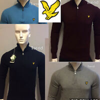 WINTER LYLE AND SCOTT LONG SLEEVE ZIP-NECK JUMPER (SWEATER) FOR MEN