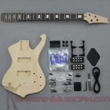 Bargain Musician - BK-002 - Unfinished Project Luthier Electric BASS Guitar Kit