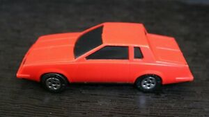 Buddy L 1981 Red Monte Carlo /Plastic, Tinted Windows 6 6/16 x 2 5/16 /Vintage!
