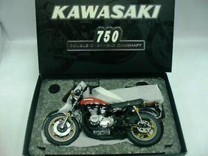 WOW EXTREMELY RARE Kawasaki 750 Z2 Yoshimura 1973 Red 1:12 Wit's-Minichamps