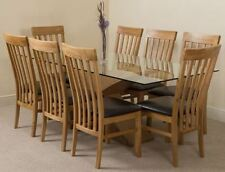 Oak Up to 8 Table & Chair Sets