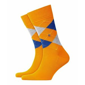 BURLINGTON Men's Socks Manchester - Sunflower/Blue