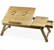 Multipurpose Laptop Foldable Wooden Table Bed Tray Christmas Special Gift