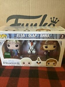 Frozen II - Elsa, Olaf & Anna Pop! Vinyl, 3 Pack - FunKo BARNES AND NOBLE