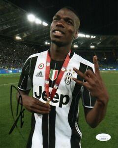 Juventus Paul Pogba Autographed Signed 8x10 Photo COA G