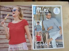 3 Knitting Patterns for Man's and Woman's Summer Sweaters & Kid's Hoody