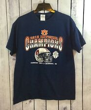 Auburn University 2010 BCS National Champions Glendale Arizona T-Shirt M A13-24