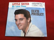 ELVIS PRESLEY~LITTLE SISTER~HIS LATEST FLAME~SLEEVE ONLY~RCA 47-7908~ POP