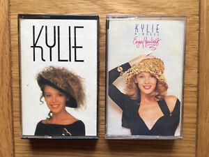 Cassette Tape Album bundle - Kylie Minogue - Kylie & Enjoy Yourself - Tested