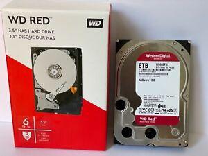 """Western Digital Red NAS 6TB 3.5"""" Internal Hard Drive (WD60EFAX)"""