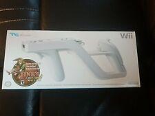 Nintendo Wii Zapper Gun / Accessory with Links Crossbow Training, Open Box