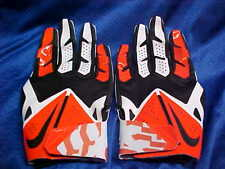 Nike Vapor Fly Hyperfuse Virginia Cav's Football Gloves Orange/Blk PGF303 Sz 3XL