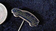 Karmann Anstecknadel kein Pin Badge Auto Karosse Schriftzug 90er Jahre