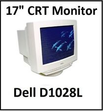 "CRT Video 17"" Monitor - Dell D1028L - Good Working Condition"