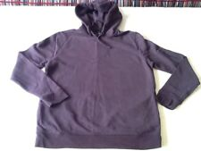 MENS-RIVER ISLAND-HOODED TOP-SIZE=M=38-40in.CHEST-EMPEROR PURPLE-COTTON-VGC