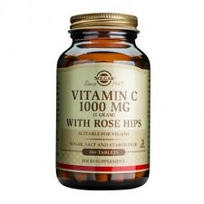 Solgar Vitamin C 1000 mg with Rose Hips Tablets 100