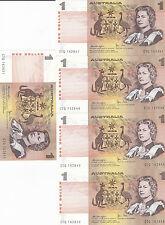 1979 One Dollar Knight/Stone 10 Consecutive UNC notes CTQ 162647/656