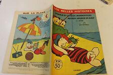 LES BELLES HISTOIRES DE DISNEY  54 juillet 1958 donald et les faux monnayeurs