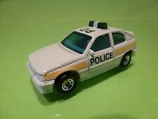 MATCHBOX OPEL VAUXHALL ASTRA GSI GTE - POLICE PD - WHITE 1:60?- GOOD CONDITION