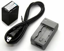 7.2V Battery + Charger for Sony DEV-5 DEV-30 DEV-50 FDR-AX30 FDR-AX33 FDR-AX100