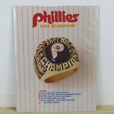 PHILADELPHIA PHILLIES - VINTAGE 1981 OFFICIAL YEARBOOK - NEAR MINT