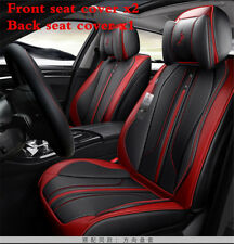 Car 5 Sits Cover Cushion 6D Surround Luxury Leather For Interior Accessories