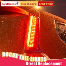 For Nissan Rogue LED Taillights Assembly Red LED Rear Lamps 2014-2018