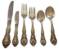 Baronial by Gorham Sterling Silver Flatware Set of 8 Service 53 Pieces